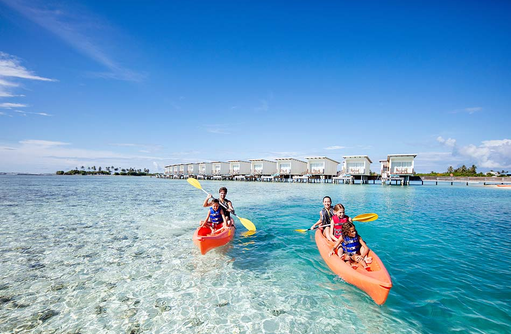 Kayakfahren, Holiday Inn Resort Kandooma, Maldives