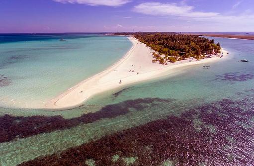 Aufnahme von oben, Holiday Island Resort & Spa, Maldives