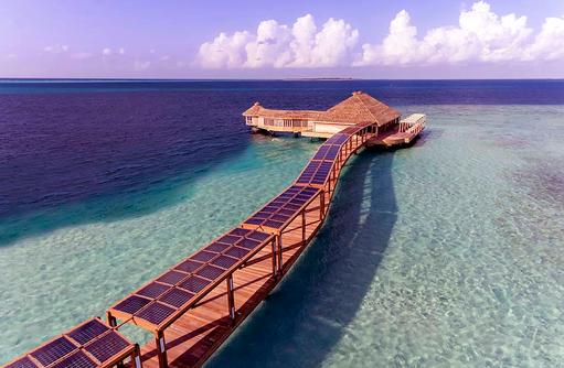 Solar, Hurawalhi Island Resort, Maldives