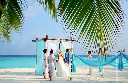 Traumhochzeit am Strand, Hurawalhi Island Resort, Maldives