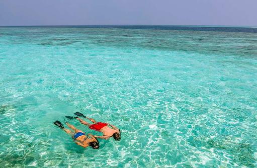 Schnorcheln,Hurawalhi Island Resort, Maldives