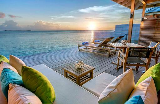 Ocean Villa Terrasse, Hurawalhi Island Resort, Maldives