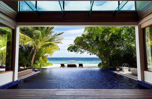 Beach Pavillon, Meerblick, Privatpool, Huvafen Fushi Maldives