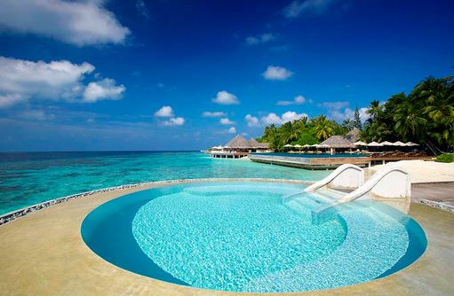 Inifinity Pool Lonu Veyo, Huvafen Fushi Maldives