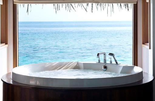 Ocean Bungalow with Pool, Jacuzzi, Meerblick, Huvafen Fushi Maldives