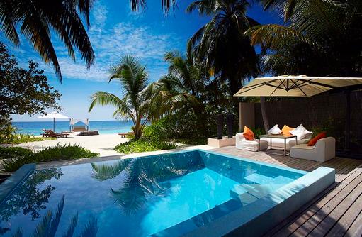 Deluxe Beach Bungalow with Pool, Privatpool, Meerblick, Strandzugang, Huvafen Fushi Maldives