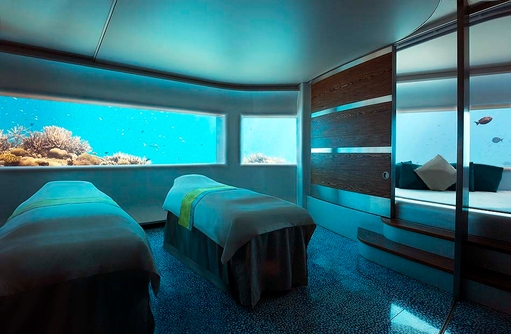 Lime Spa, Unterwasserspa, Massage, Couple Treatment Room, Huvafen Fushi Maldives