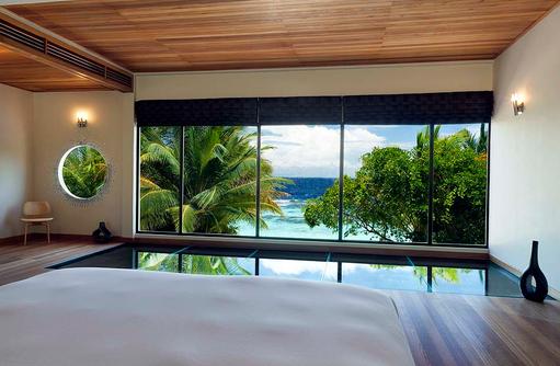 Beach Pavillon, Bedroom, Meerblick, Huvafen Fushi Maldives