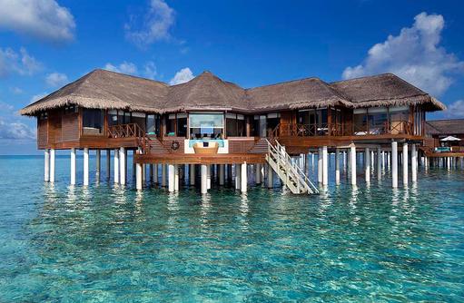 Ocean Pavillon with Pool, Frontansicht, Privatpool, Huvafen Fushi Maldives