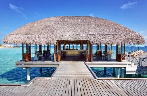 Raw Restaurant, Overwater Restaurant, Huvafen Fushi Maldives