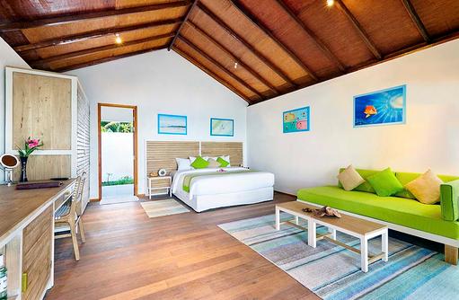 Innenausstattung Beach Bungalow, Innahura Maldives Resort
