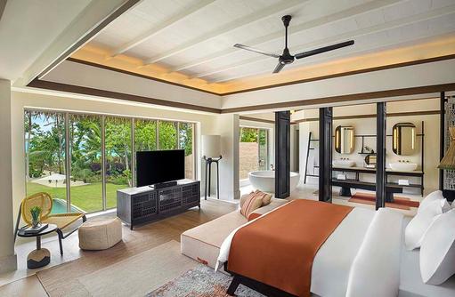 3 Bedroom Royal Beachfront Residence, InterContinental Maldives