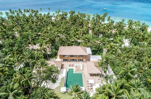 Royal Beachfront Residence, InterContinental Maldives