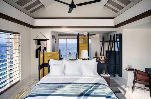 Bedroom -Lagoon PoolVilla, InterContinental Maldives