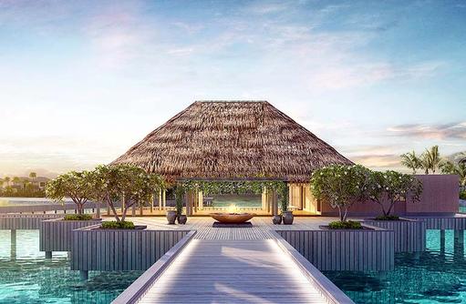 Ankunftssteg, InterContinental Maldives