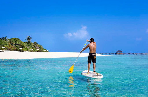 Stand Up Paddling, JA Manafaru, Maldives