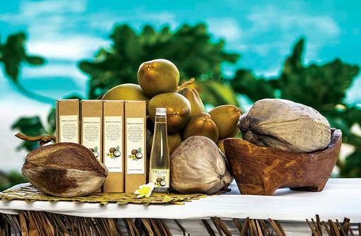 Coconut Oil, Jumeirah Vittaveli, Maldives