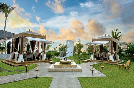Swarna Cabanas Außenbereich, Jumeirah Vittaveli, Maldives