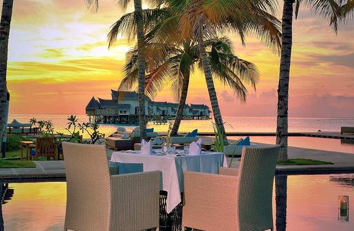Aqua Dinner, Jumeirah Vittaveli, Maldives