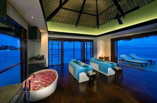 VIP Overwater Suite,Behandlungsraum, Jumeirah Vittaveli, Maldives