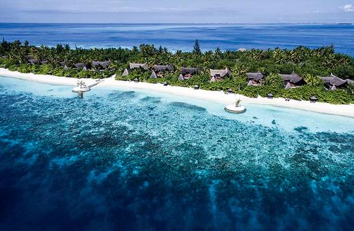 Areal der Beach Suiten, Jumeirah Vittaveli, Maldives