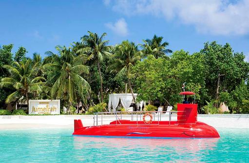 Semi Submarine, Jumeirah Vittaveli, Maldives