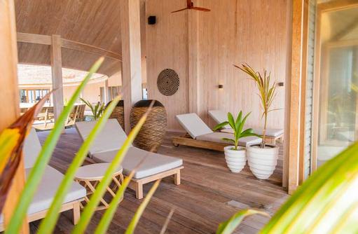 Liegebereich SPA, Kagi Maldives SPA Island