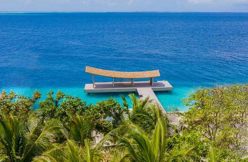 Arrival Jetty, Kagi Maldives SPA Island