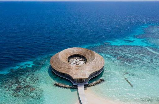 Aerial SPA, Kagi Maldives SPA Island