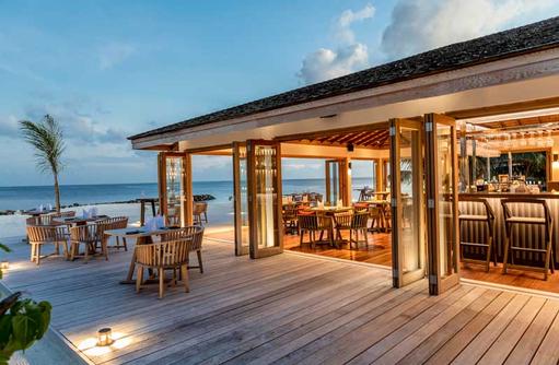 Ke-Un Restaurant, Kagi Maldives SPA Island