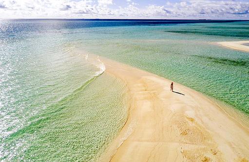 Sandbank, Spaziergang, Abschalten, Kandima Maldives
