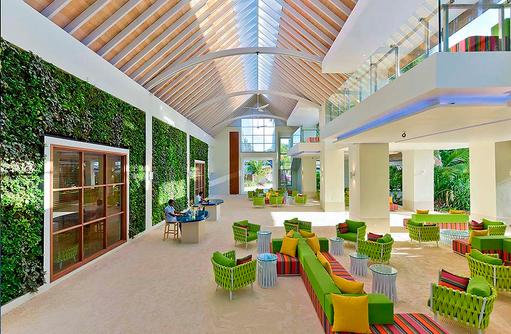 Lobby, Rezeption, Kandima Maldives
