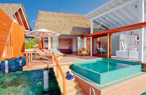 Ocean Pool Villa mit Terrasse | Kandolhu Maldives