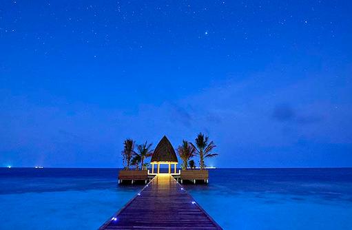 Steg am Abend | Kandolhu Maldives