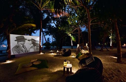 Cinema on the Beach, Kino am Strand, Casablanca I Kanuhura Maldives