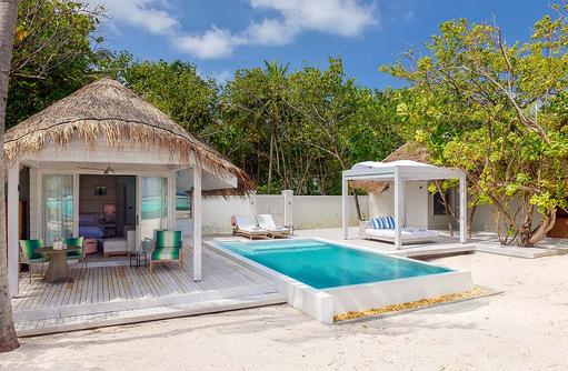 Retreat Beach Pool Villa I Kanuhura Maldives