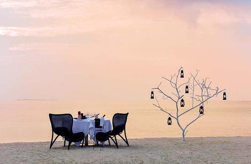 Magische Momente, Beach Dinner I Kanuhura Maldives