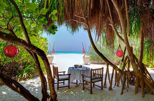 A Mano italienisches Restaurant I Kanuhura Maledives