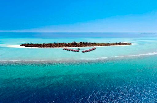 Panorama I Kanuhura Maldives