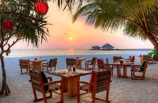 A Mano italienisches Restaurant I Kanuhura Maldives