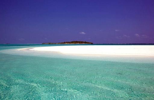 Sandbank I Kanuhura Maldives