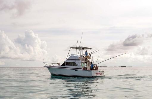 Hochseeangeln I Kanuhura Maldives