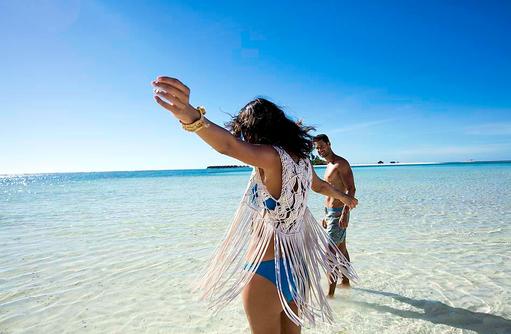 Frei sein und die Welt umarmen I Kanuhura Maldives
