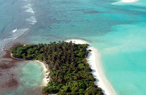 Nachbarinsel, tropisches Paradies I Kanuhura Maldives