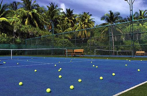 Sport, Tennisplatz, Kihaa Maldives