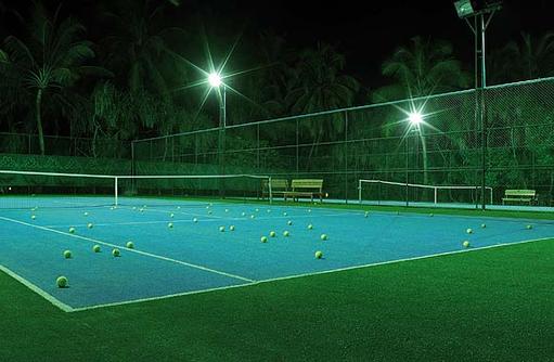 Tennisplatz, Flutlicht, Kihaa Maldives