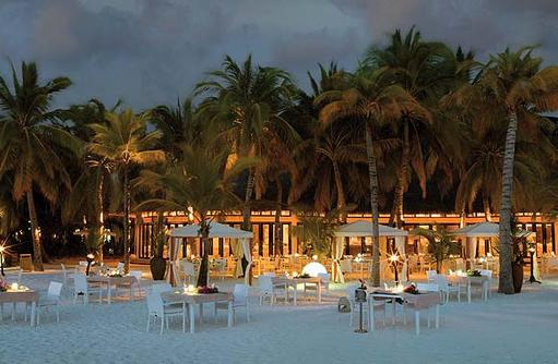 Malaafaiy Buffet Restaurant, Aussenbereich, Kihaa Maldives