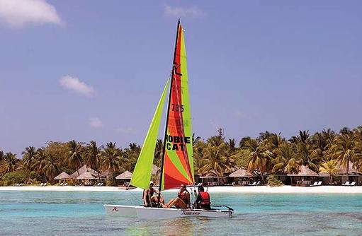 Wassersport, Katamaran, Kihaa Maldives