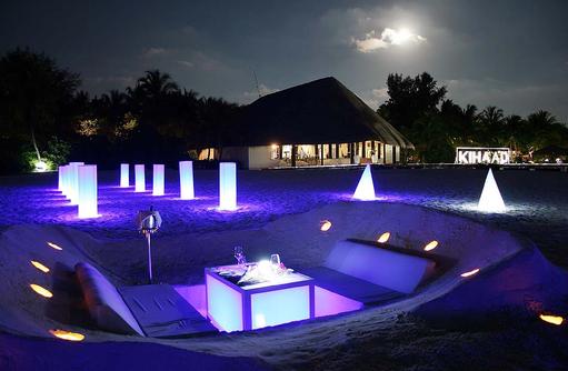 Dig-In Beach Dinner, Dinner am Strand, Kihaa Maldives