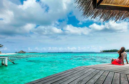 Entspannen am Meer, Kihaa Maldives